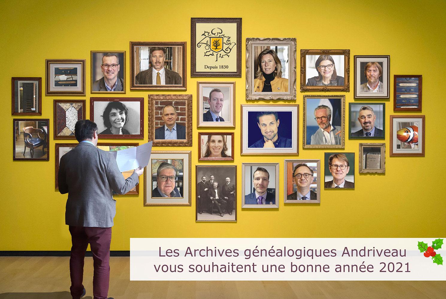 L'Etude Andriveau vous présente ses meilleurs vœux pour 2021 !